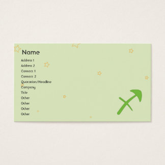 Sagittaurus - Business Business Card