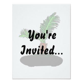 Sago Palm Bonsai Type Graphic Image tree Invites