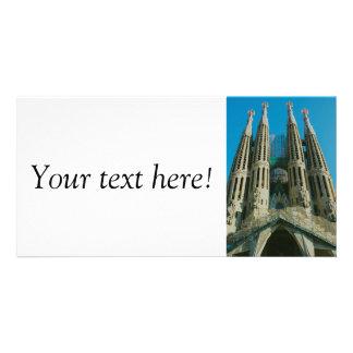 Sagrada Familia, Barcelona Customised Photo Card