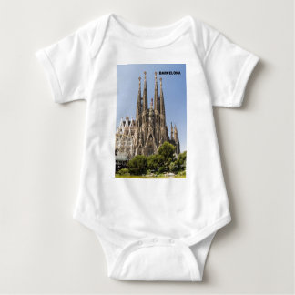 Sagrada Familia Barcelona Spain Baby Bodysuit