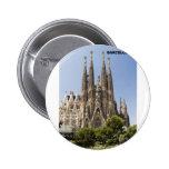 Sagrada Familia Barcelona Spain Buttons