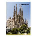 Sagrada Familia Barcelona Spain Postcards