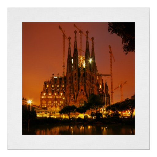 Sagrada Familia, Barcelona - Spain Poster