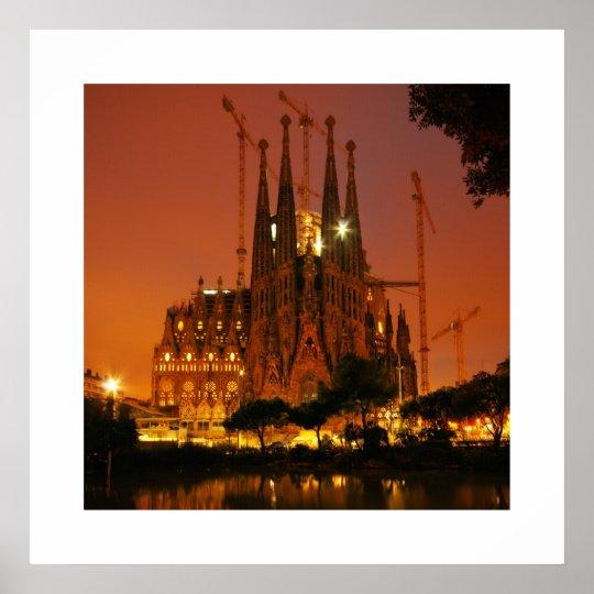 Sagrada Familia, Barcelona - Spain Poster