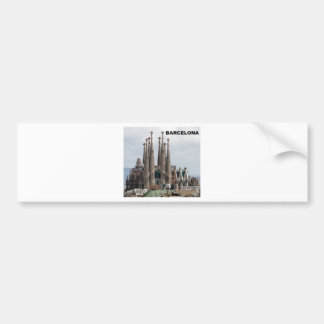 SAGRADA FAMILIA BARCELONA SPAIN (St.K) Bumper Sticker