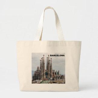 SAGRADA FAMILIA BARCELONA SPAIN (St.K) Large Tote Bag