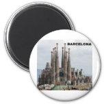 SAGRADA FAMILIA BARCELONA SPAIN (St.K) Refrigerator Magnets