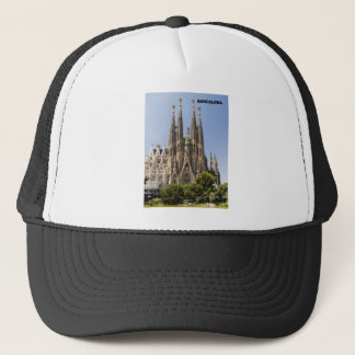 Sagrada Familia Barcelona Spain Trucker Hat