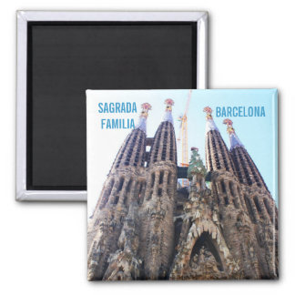 Sagrada Familia church Magnet