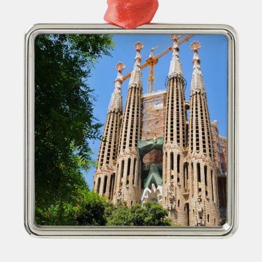 Sagrada Familia in Barcelona, Spain Christmas Ornament