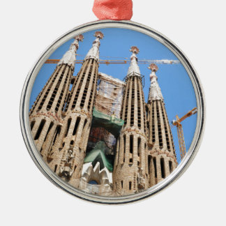 Sagrada Familia in Barcelona, Spain Christmas Ornament