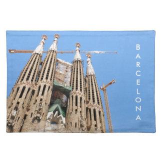 Sagrada Familia in Barcelona, Spain Placemat