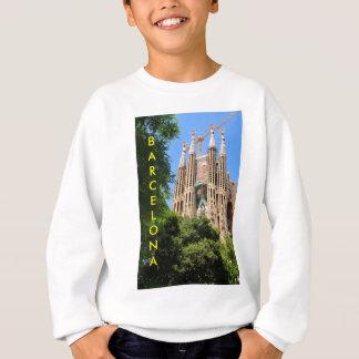 Sagrada Familia in Barcelona, Spain Sweatshirt