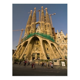 Sagrada Familia of Barcelona Postcard