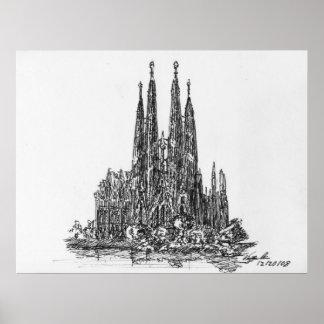 Sagrada Familia Posters