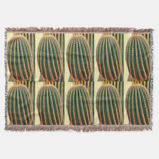 Saguaro Arm Throw Blanket