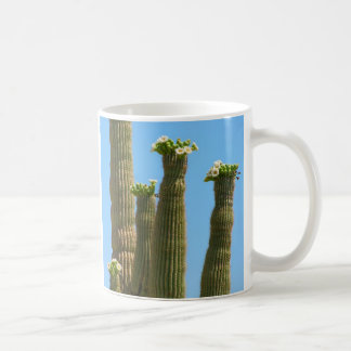 Saguaro Cactus Blossoms Coffee Mug