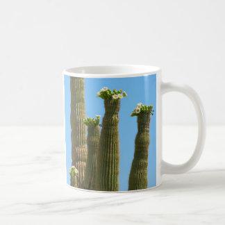 Saguaro Cactus Blossoms Basic White Mug