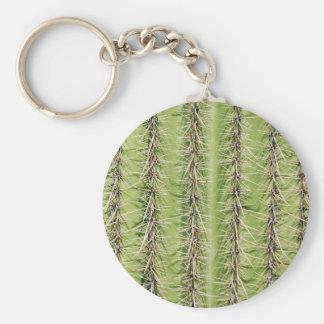 Saguaro cactus needles print key chains