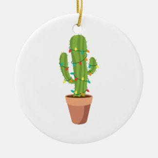 Saguaro Cactus Plant Christmas Ornament