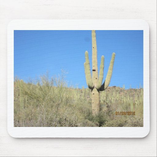 Saguaro Cactus products Mouse Pad