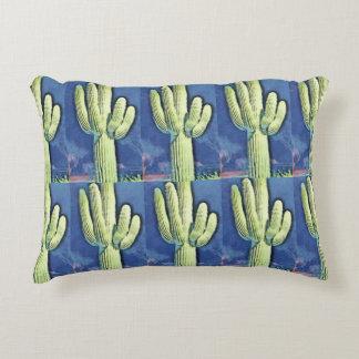 Saguaro Cartoon Cactus Pillow