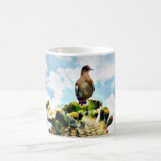 Saguaro Dove In The Clouds Coffee Cup/Mug Coffee Mug