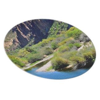 Saguaro Lake Melamine Plate
