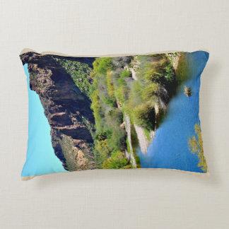 Saguaro Lake Swimming Hole Pillow