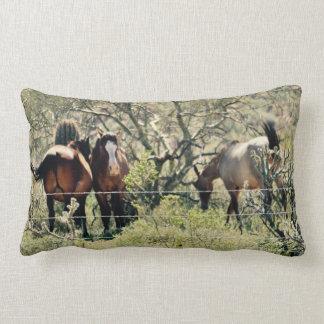 Saguaro Lake Wild Mustangs Lumbar Cushion
