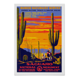 Vintage National Park Posters Prints Zazzle Uk