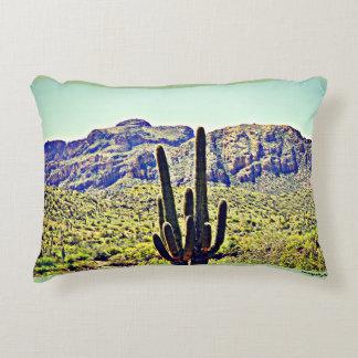 """Saguaro @ Saguaro Lake"" Accent Polyester Pillow"