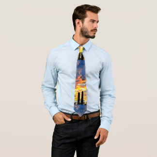 Saguaro Sky Men's Tie