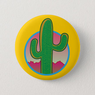 Saguaro Sunset Button