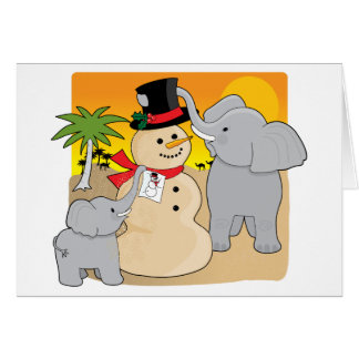 Sahara Christmas Card