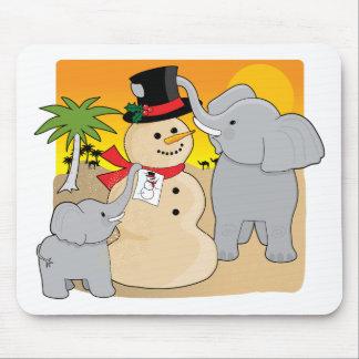 Sahara Christmas Mouse Pad