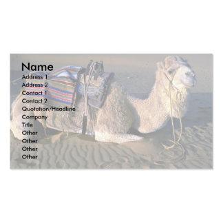 Sahara Desert near Merzouga, Morocco Business Card Template