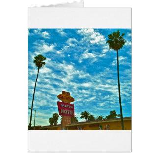 Sahara Hotel- Sunset Strip,Los Angeles Greeting Card