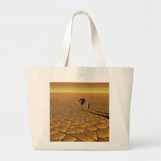 Saharan Journey 1995 Large Tote Bag