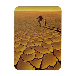 Saharan Journey 1995 Rectangular Photo Magnet