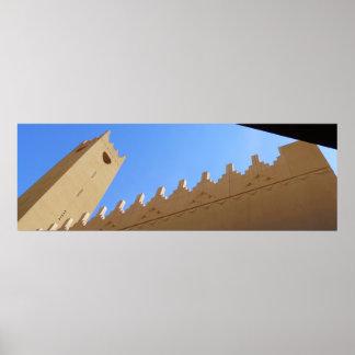 Sahat Al Kindi Minaret Poster