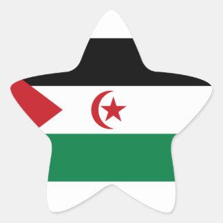 Sahrawi Arab Democratic Republic Flag Star Sticker
