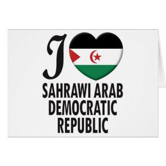 Sahrawi Arab Love Cards