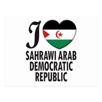 Sahrawi Arab Love Postcard