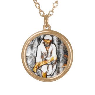 Sai Baba Round Pendant
