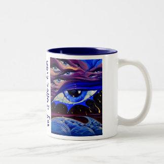 sai, ci basta un sogno Two-Tone mug