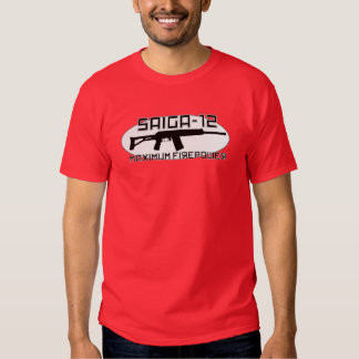 Saiga 12 - Maximum Firepower Shirt