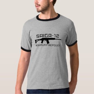 Saiga 12 - Maximum Firepower T-Shirt