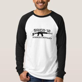 Saiga 12 - Maximum Firepower Tshirt