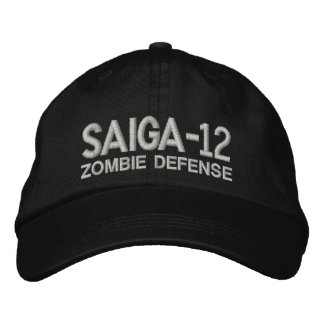 Saiga 12 - Zombie Defense Embroidered Hat